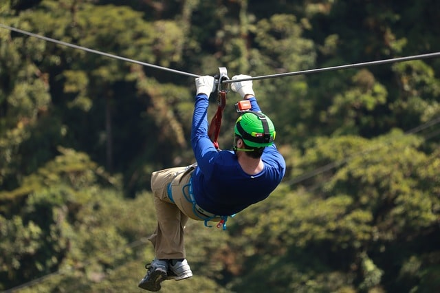 ziplining - things to do in manali